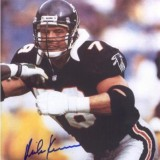 Atlanta Falcon Offensive Tackle Mike Kenn
