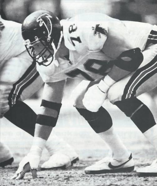 Mike Kenn, Atlanta Falcons 1978-1994