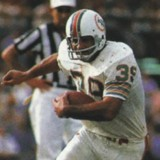 Larry Csonka of the Miami Dolphins