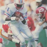 Houston Oilers receiver Ernest Givins 1986