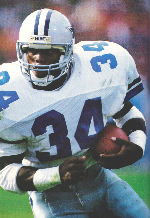 Rookie Running Back Herschel Walker of the Dallas Cowboys