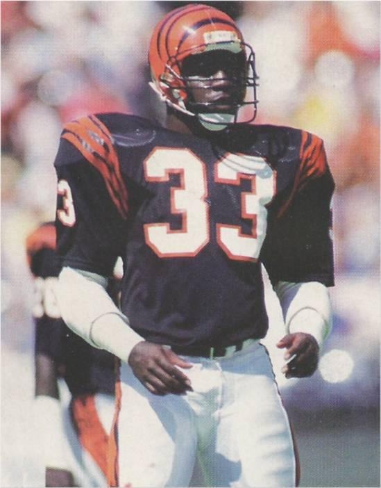 Rookie David Fulcher in 1986