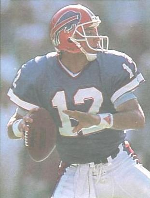 Buffalo Bills Quarterback Jim Kelly