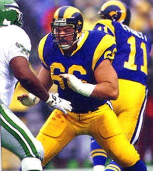 Tom Newberry, Offensive Guard, Los Angeles Rams