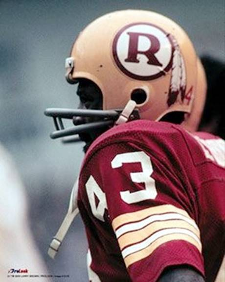 Larry Brown, Washington Redskins runner 1969-1976
