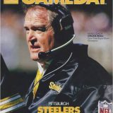 Steelers Head Coach Chuck Noll on the cover of Gameday Magazine in 1987