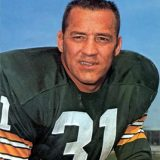 Jim Taylor, Hall of Fame Fullback for the Green Bay Packers