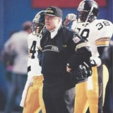 Steelers Head Coach Chuck Noll in 1989