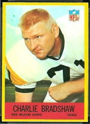 Charlie Bradshaw 1967 Philadelphia Company Trading Card