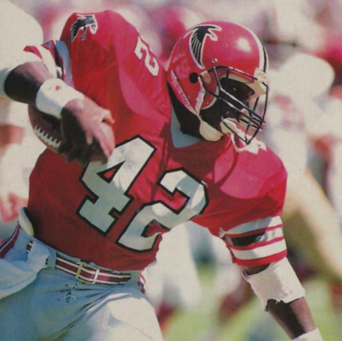 Gerald Riggs, Atlanta Falcons 1982-1988