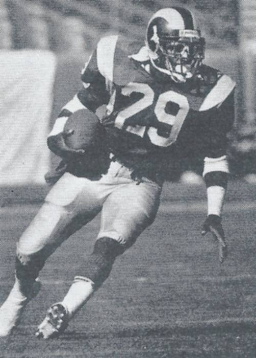 Eric Dickerson Hall of Fame Running Back