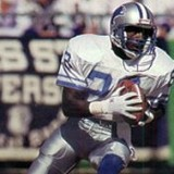 Kick Returner Mel Gray of the Detroit Lions