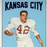 Johnny Robinson 1965 Kansas City Chiefs Topps Card