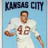 Johnny Robinson 1965 Kansas City Chiefs Topps Card