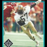 Rickey Jackson, 1992 New Orleans Saints Score Trading Card