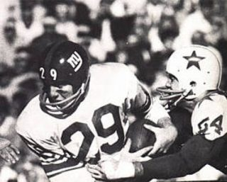 All-Time New York Giants Great Alex Webster