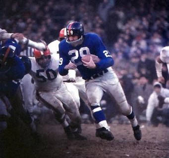Alex Webster, #5 All-Time Leading Giants Rusher