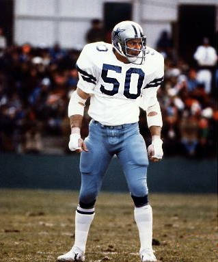 DD Lewis of teh Dallas Cowboys, 1968 to 1981