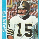 New Orleans Saints kicker Rich Szaro