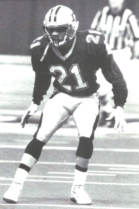 Eric Allen, Saints Cornerback 1995-1997