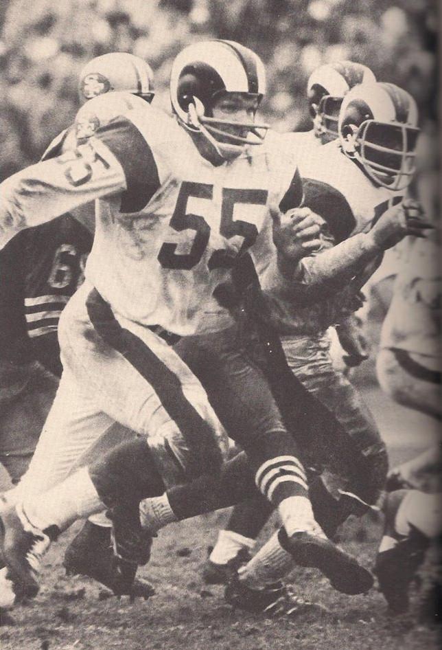 Rams linebacker Maxie Baughan