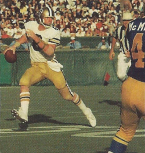Archie  Manning of the New Orleans Saints, 1971-1982
