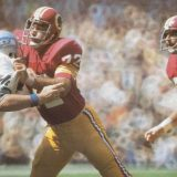 Washington Redskins Defensive Lineman Diron Talbert, 1971-1980