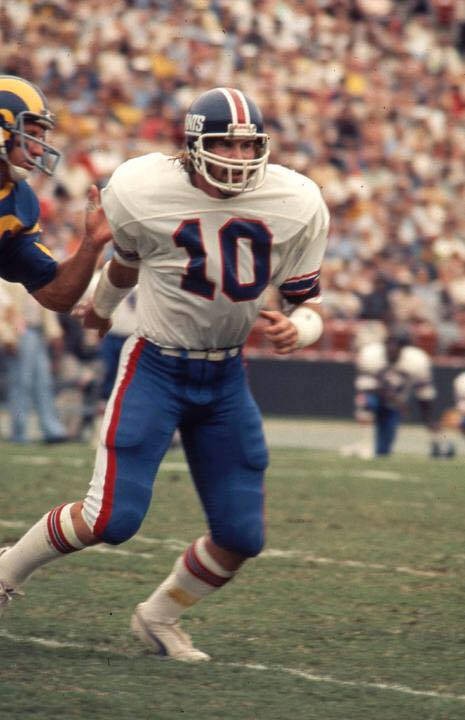 Brad Van Pelt New York Giants Linebacker 1973-1983