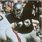 Art Shell, Oakland Raiders Hall of Fame Offensive Lineman 1968-1982