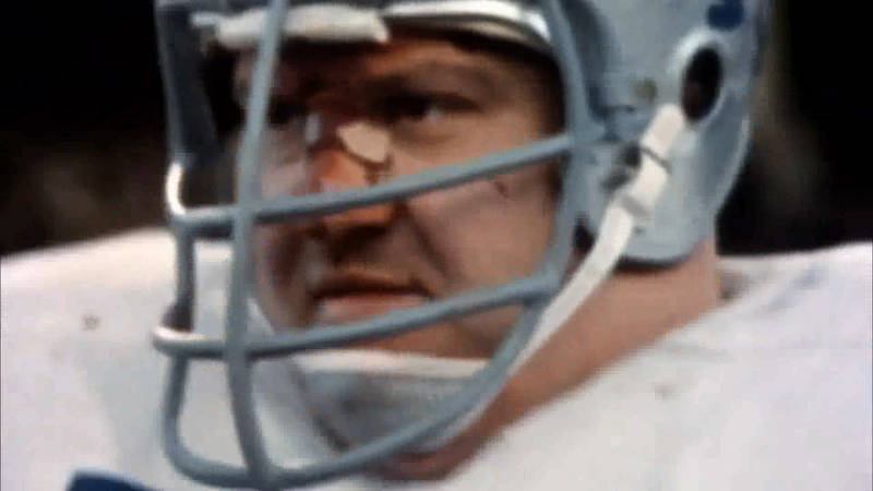 Alex Karras of the Detroit Lions