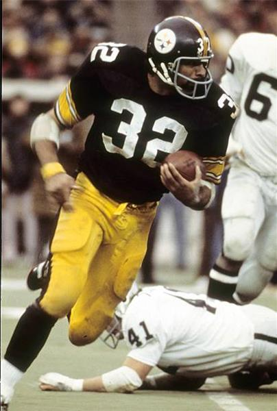 Franco Harris, Steelers Playoff Fullback