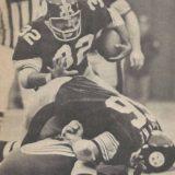 Steelers Franco Harris and Bruce van Dyke