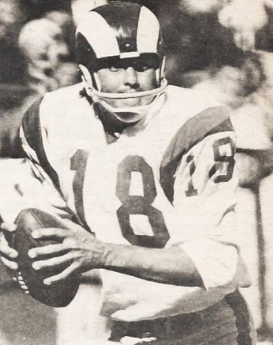 LA Rams Quarterback Roman Gabriel