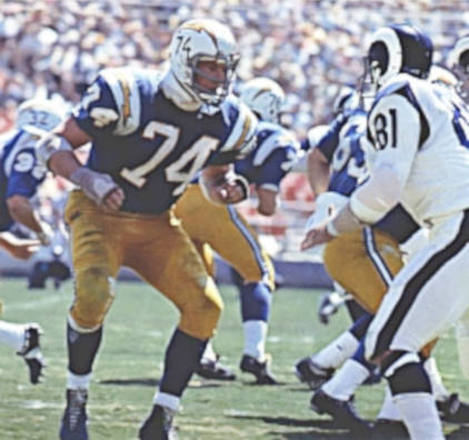 Ron Mix San Diego Chargers Hall of Fame Offensive Tackle