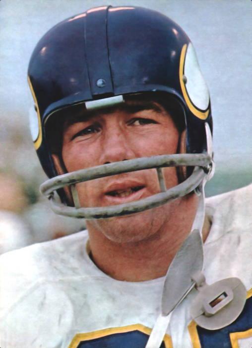 Minnesota Viking Runningback Tommy Mason