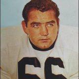 Pittsburgh Steelers Linebacker Myron Pottios, 1961-1965
