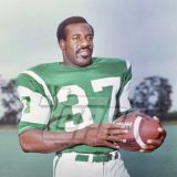 New York Jets runner George Nock, 1969-1971