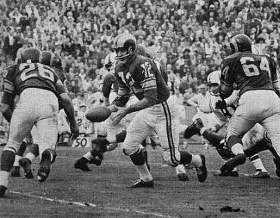 Rams Quarterback Zeke Bratkowski