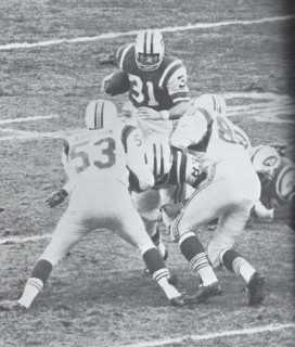 Tom Addison of the Boston Patroits and Bill Mathis of the New_York_Jets
