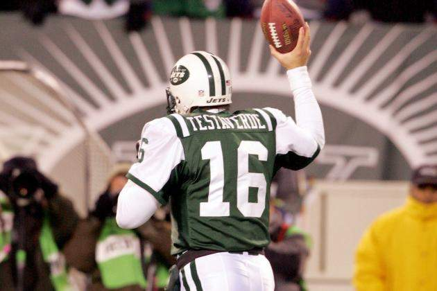 Jets quarterback Vinny Testaverde