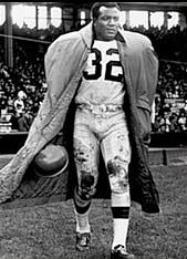 Jim Brown, Cleveland Browns 1957-1965