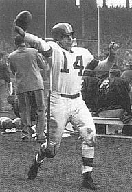 Otto Graham, Quarterback, Cleveland Browns, 1946-1955
