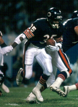 Chicago Bears Running Back Neal Anderson