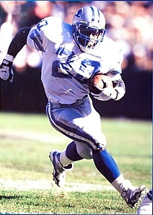 Barry Sanders, Detroit Lions 1989-1998