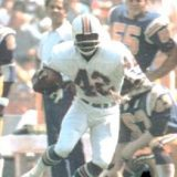 NFL Receiver Paul Warfield, 1964-1977
