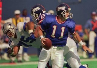 Tony Casillas Rushing Phil Simms
