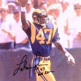 Rams Cornerback Leroy Irvin, 1980-1990