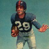 Giants runner Alex Webster in 1957