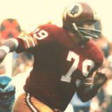 Washington Redskins Defensive Lineman Ron McDole