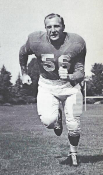 Detroit Lions Midle Linebacker Joe Schmidt